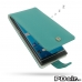BlackBerry Priv Leather Flip Wallet Case (Aqua) Wide selection of colors and patterns. by PDair