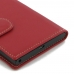 BlackBerry Priv Leather Smart Flip Case Cover (Red) protective stylish skin case by PDair