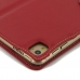 iPad Pro 9.7 Leather Flip Carry Cover (Red) genuine leather case by PDair