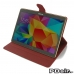 Samsung Galaxy Tab S 10.5 Leather Flip Carry Cover (Red) protective stylish skin case by PDair