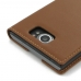 BlackBerry Priv Leather Smart Flip Case Cover (Brown) best cellphone case by PDair