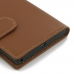 BlackBerry Priv Leather Smart Flip Case Cover (Brown) protective stylish skin case by PDair