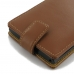 BlackBerry Priv Leather Flip Wallet Case (Brown) best cellphone case by PDair