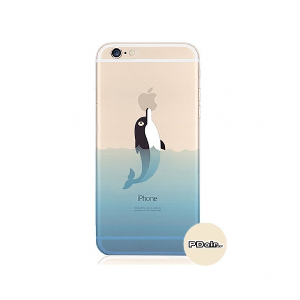 10% OFF + FREE SHIPPING, Buy PDair iPhone Soft Clear Case Oceanic Dolphin Sea Swim which is available for iPhone 5 | iPhone 5s, iPhone 6 | iPhone 6s, iPhone 6 Plus | iPhone 6s Plus, iPhone SE You also can go to the customizer to create your own stylish le