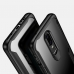 OnePlus 6 Super Series Ultra Thin HD transparent PC Case (Black) custom degsined carrying case by PDair