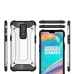 OnePlus 6 Hybrid Dual Layer Tough Armor Protective Case (Silver) best cellphone case by PDair