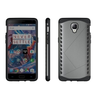 10% OFF + FREE Shipping, Buy Best PDair Premium Protective OnePlus 3 Hybrid Combo Aegis Armor Case Cover (Grey) online. Designed for OnePlus 3. You also can go to the customizer to create your own stylish leather case if looking for additional colors, pat