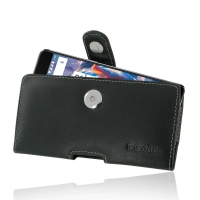 Leather Horizontal Pouch Case with Belt Clip for OnePlus 3