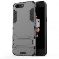 OnePlus 5 Tough Armor Protective Case (Grey)