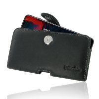 Leather Horizontal Pouch Case with Belt Clip for OnePlus 6