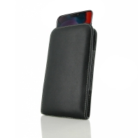 Leather Vertical Pouch Case for OnePlus 6