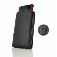 Leather Vertical Pouch Belt Clip Case for OnePlus 6