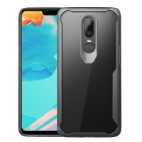 Super Series Ultra Thin HD transparent PC Case for OnePlus 6 (Grey)