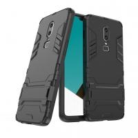 OnePlus 6 Tough Armor Protective Case (Black)