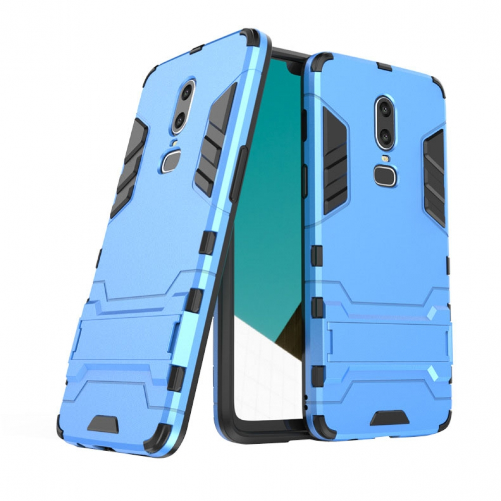 10% OFF + FREE SHIPPING, Buy the BEST PDair Premium Protective Carrying OnePlus 6 Tough Armor Protective Case (Blue). Exquisitely designed engineered for OnePlus 6.