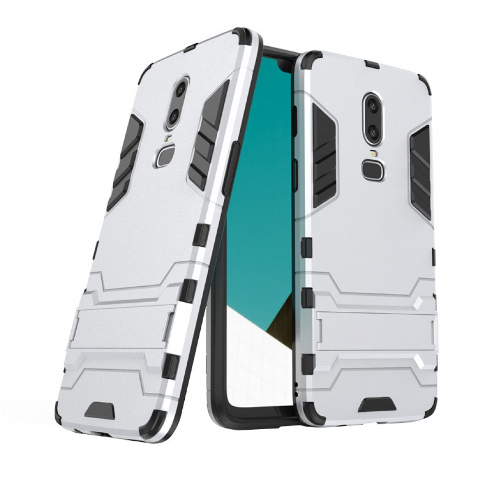 10% OFF + FREE SHIPPING, Buy the BEST PDair Premium Protective Carrying OnePlus 6 Tough Armor Protective Case (Silver). Exquisitely designed engineered for OnePlus 6.