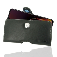 Leather Horizontal Pouch Case with Belt Clip for OnePlus 6T
