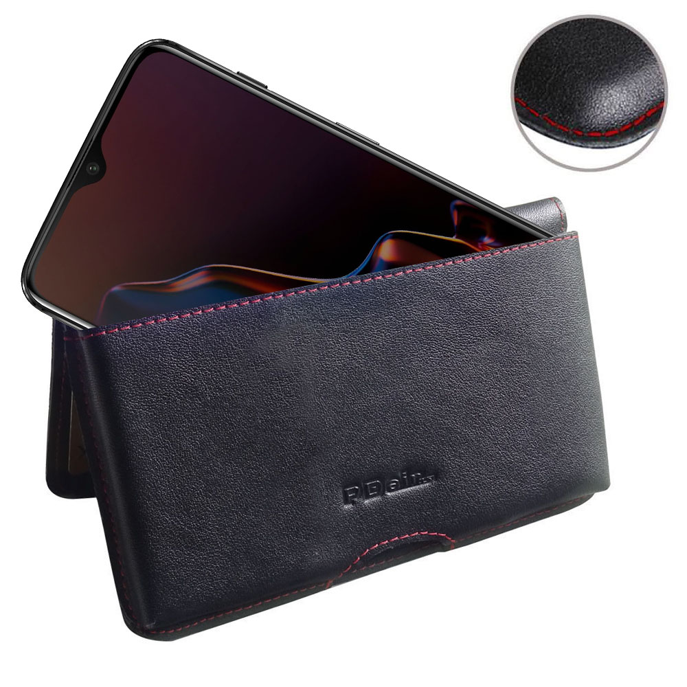 10% OFF + FREE SHIPPING, Buy the BEST PDair Handcrafted Premium Protective Carrying OnePlus 6T Leather Wallet Pouch Case (Red Stitch). Exquisitely designed engineered for OnePlus 6T.