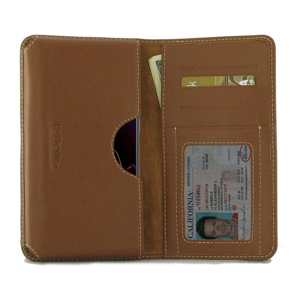 10% OFF + FREE SHIPPING, Buy the BEST PDair Handcrafted Premium Protective Carrying OnePlus 6T Leather Wallet Sleeve Case (Brown). Exquisitely designed engineered for OnePlus 6T.
