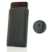 Leather Vertical Pouch Belt Clip Case for OnePlus 6T