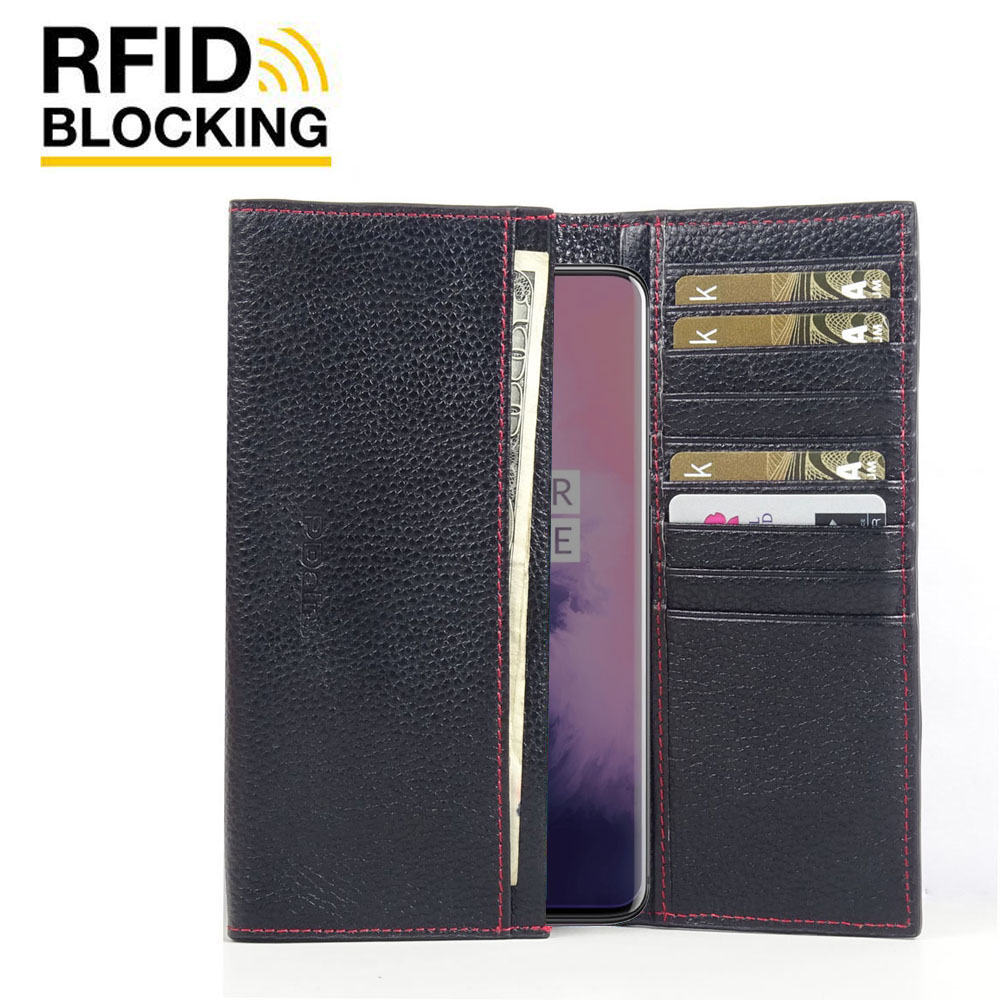 10% OFF + FREE SHIPPING, Buy the BEST PDair Handcrafted Premium Protective Carrying OnePlus 7 Pro Leather Continental Sleeve Wallet (Red Stitching). Exquisitely designed engineered for OnePlus 7 Pro.