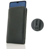 Leather Vertical Pouch Belt Clip Case for OnePlus 7T