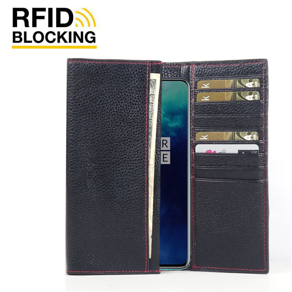 10% OFF + FREE SHIPPING, Buy the BEST PDair Handcrafted Premium Protective Carrying OnePlus 7T Pro Leather Continental Sleeve Wallet (Red Stitching). Exquisitely designed engineered for OnePlus 7T Pro.