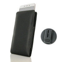 Leather Vertical Pouch Belt Clip Case for OPPO A77