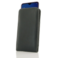 Leather Vertical Pouch Case for OPPO A7x