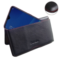 10% OFF + FREE SHIPPING, Buy the BEST PDair Handcrafted Premium Protective Carrying OPPO A7x Leather Wallet Pouch Case (Red Stitch). Exquisitely designed engineered for OPPO A7x.