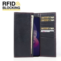 10% OFF + FREE SHIPPING, Buy the BEST PDair Handcrafted Premium Protective Carrying OPPO F11 Pro Leather Continental Sleeve Wallet (Red Stitching). Exquisitely designed engineered for OPPO F11 Pro.