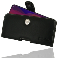 Leather Horizontal Pouch Case with Belt Clip for OPPO Find X