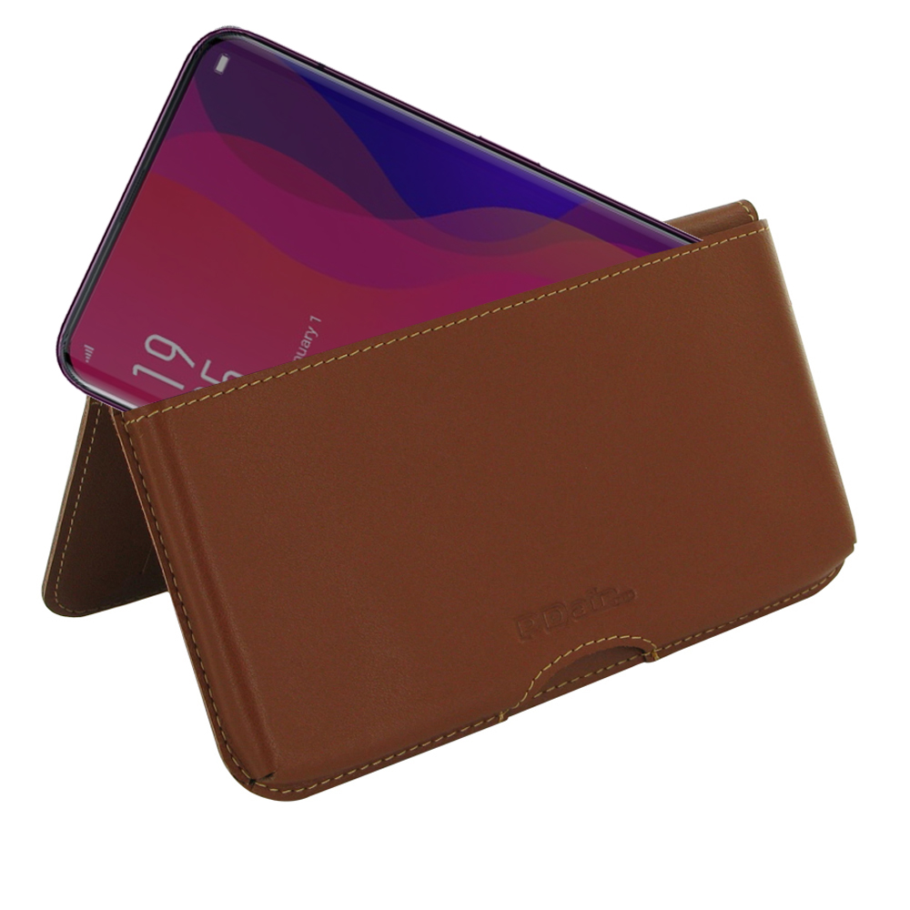 10% OFF + FREE SHIPPING, Buy the BEST PDair Handcrafted Premium Protective Carrying OPPO Find X Leather Wallet Pouch Case (Brown). Exquisitely designed engineered for OPPO Find X.