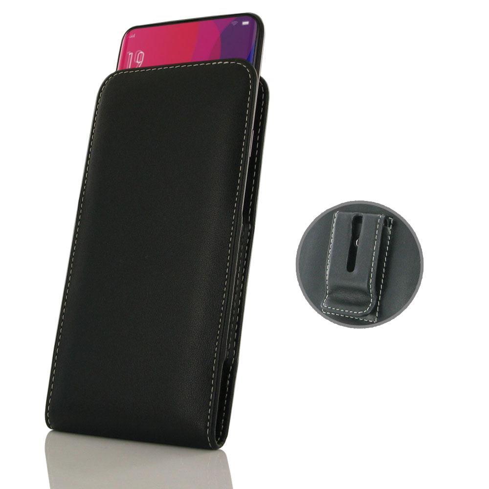 10% OFF + FREE SHIPPING, Buy the BEST PDair Handcrafted Premium Protective Carrying OPPO Find X Pouch Case with Belt Clip. Exquisitely designed engineered for OPPO Find X.