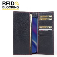 10% OFF + FREE SHIPPING, Buy the BEST PDair Handcrafted Premium Protective Carrying OPPO K1 Leather Continental Sleeve Wallet (Red Stitching). Exquisitely designed engineered for OPPO K1.