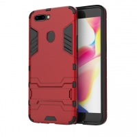 OPPO R11s Plus Tough Armor Protective Case (Red)