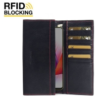 10% OFF + FREE SHIPPING, Buy the BEST PDair Handcrafted Premium Protective Carrying Oppo R15 Leather Continental Sleeve Wallet (Red Stitching). Exquisitely designed engineered for Oppo R15.