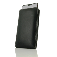 Leather Vertical Pouch Case for Oppo R15