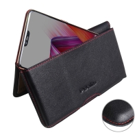 10% OFF + FREE SHIPPING, Buy the BEST PDair Handcrafted Premium Protective Carrying Oppo R15 Leather Wallet Pouch Case (Red Stitch). Exquisitely designed engineered for Oppo R15.