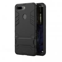 OPPO R15 Tough Armor Protective Case (Black)