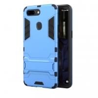 OPPO R15 Tough Armor Protective Case (Blue)