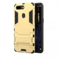 OPPO R15 Tough Armor Protective Case (Gold)