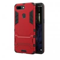OPPO R15 Tough Armor Protective Case (Red)