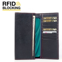 10% OFF + FREE SHIPPING, Buy the BEST PDair Handcrafted Premium Protective Carrying  OPPO R15x Leather Continental Sleeve Wallet (Red Stitching). Exquisitely designed engineered for  OPPO R15x.