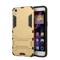 OPPO R9 Tough Armor Protective Case (Gold)