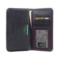 10% OFF + FREE SHIPPING, Buy Best PDair Quality Handmade Protective OPPO R9s Genuine Leather Wallet Sleeve Case (Red Stitch) online. You also can go to the customizer to create your own stylish leather case if looking for additional colors, patterns and t