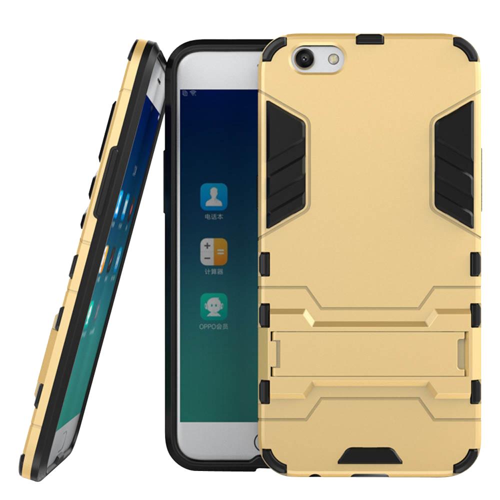 OPPO R9s Plus Tough Armor Protective Case (Gold)