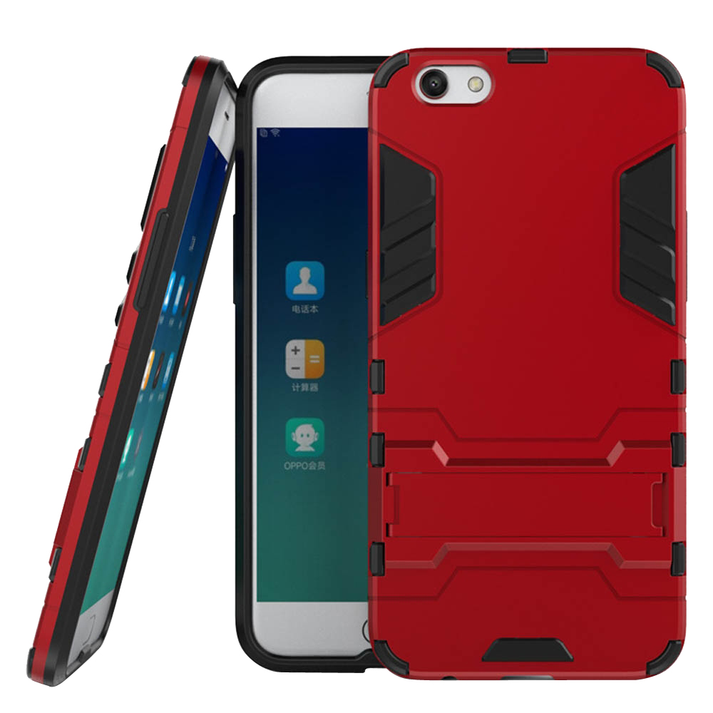 the latest 0bd10 cced9 OPPO R9s Plus Tough Armor Protective Case (Red) :: PDair 10% OFF
