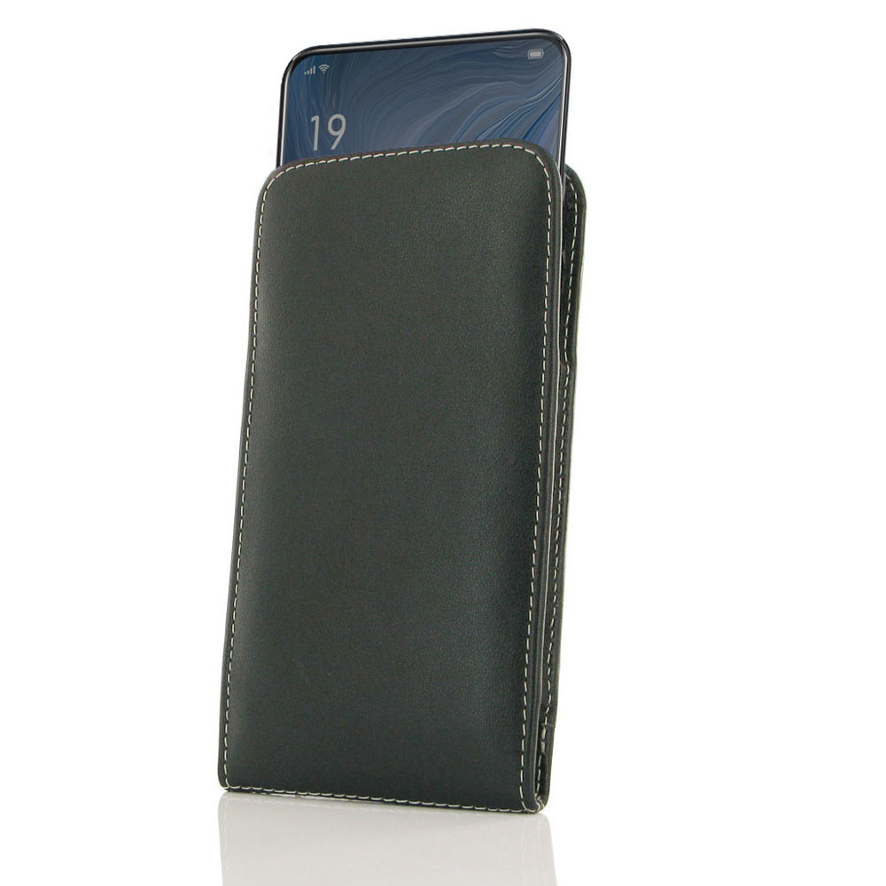 10% OFF + FREE SHIPPING, Buy the BEST PDair Handcrafted Premium Protective Carrying OPPO Reno 10x zoom Leather Sleeve Pouch Case. Exquisitely designed engineered for OPPO Reno 10x zoom.