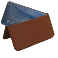 10% OFF + FREE SHIPPING, Buy the BEST PDair Handcrafted Premium Protective Carrying OPPO Reno 10x zoom Leather Wallet Pouch Case (Brown). Exquisitely designed engineered for OPPO Reno 10x zoom.